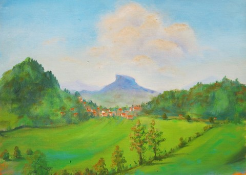 'Landscape with Bismantova' by Pheona